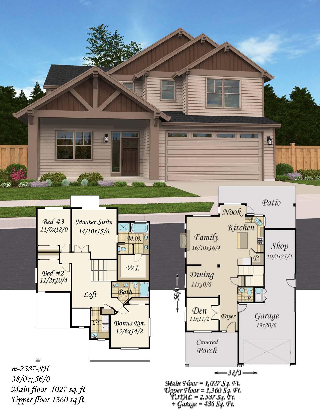 Open beam mark stewart home design for Open beam house plans
