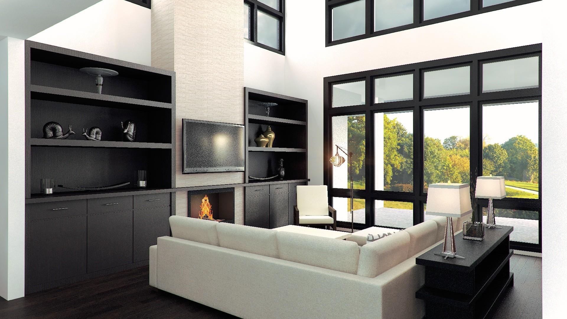 Modern House Plan X-16B   Best selling Modern Home Design
