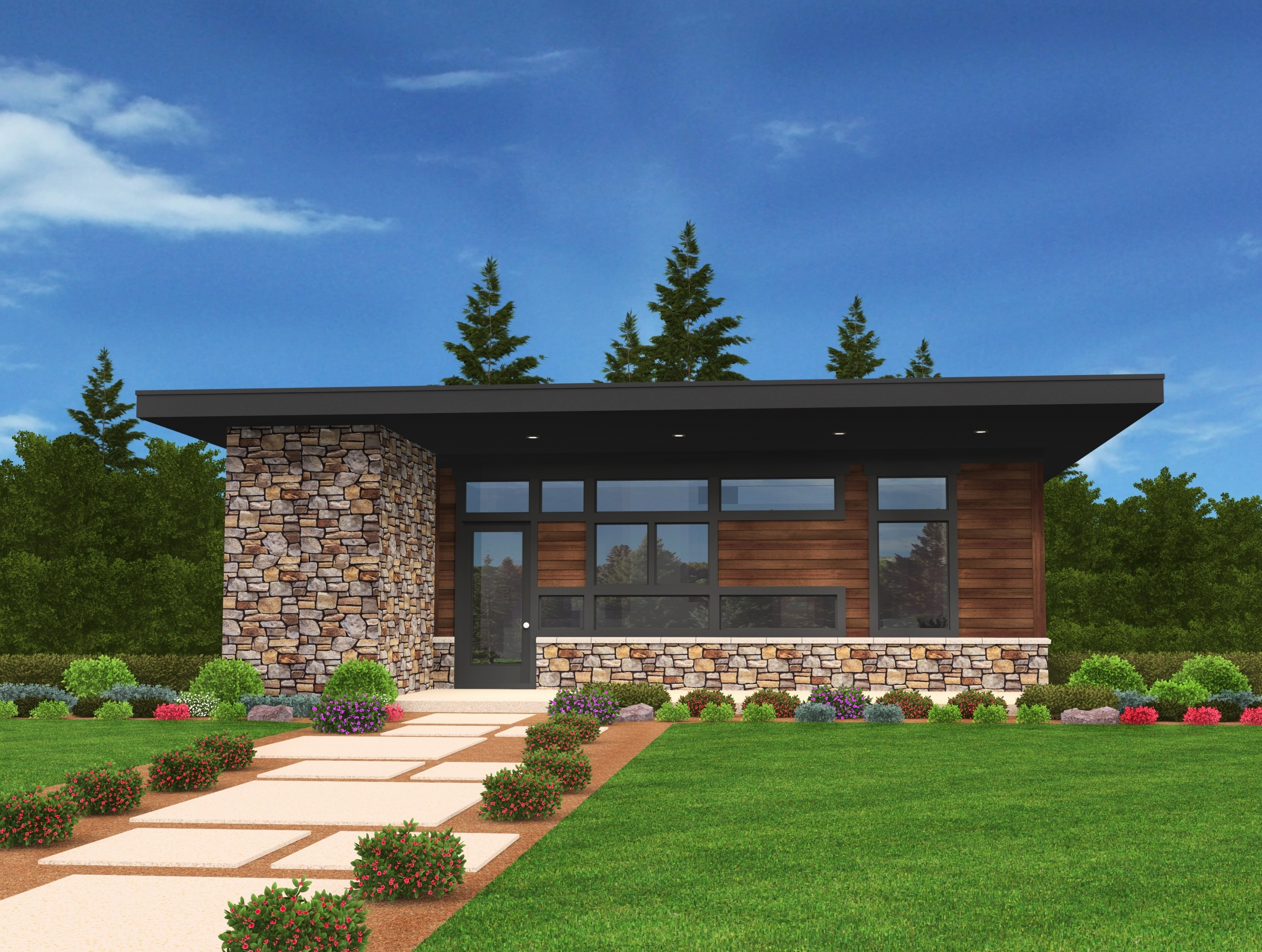 Neptune Barry House Plan Modern Small Home Design With Photos