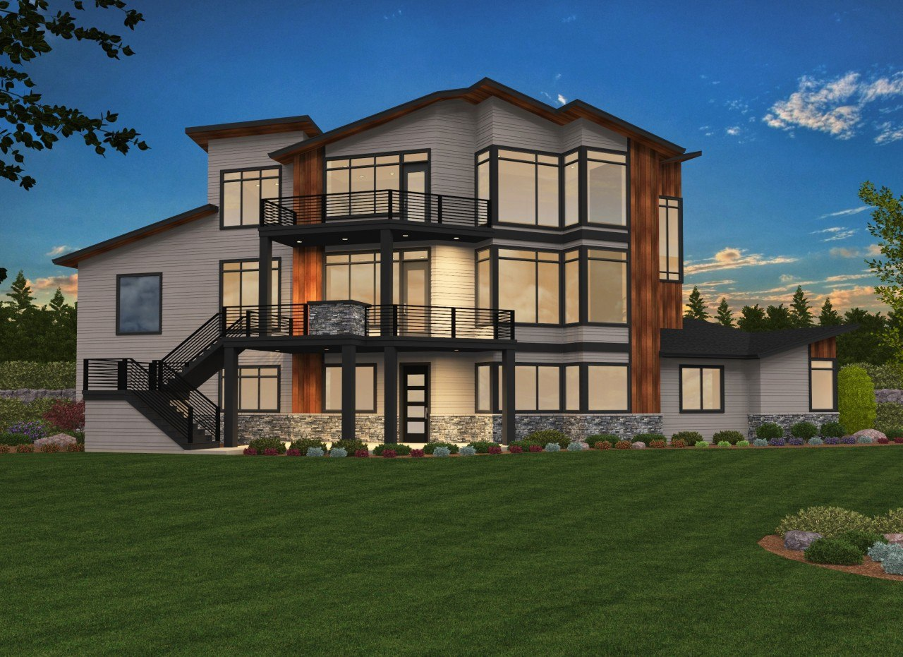 Nirvana House Plan | Contemporary House Plans, Modern ...