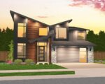 Mark Stewart Modern House Plan MM-2980-C Front