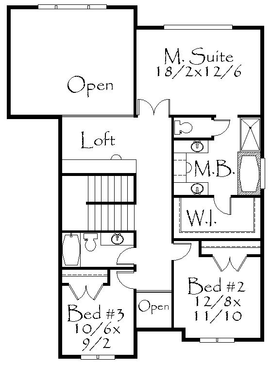 3505jdr House Plan French Country House Plans Old