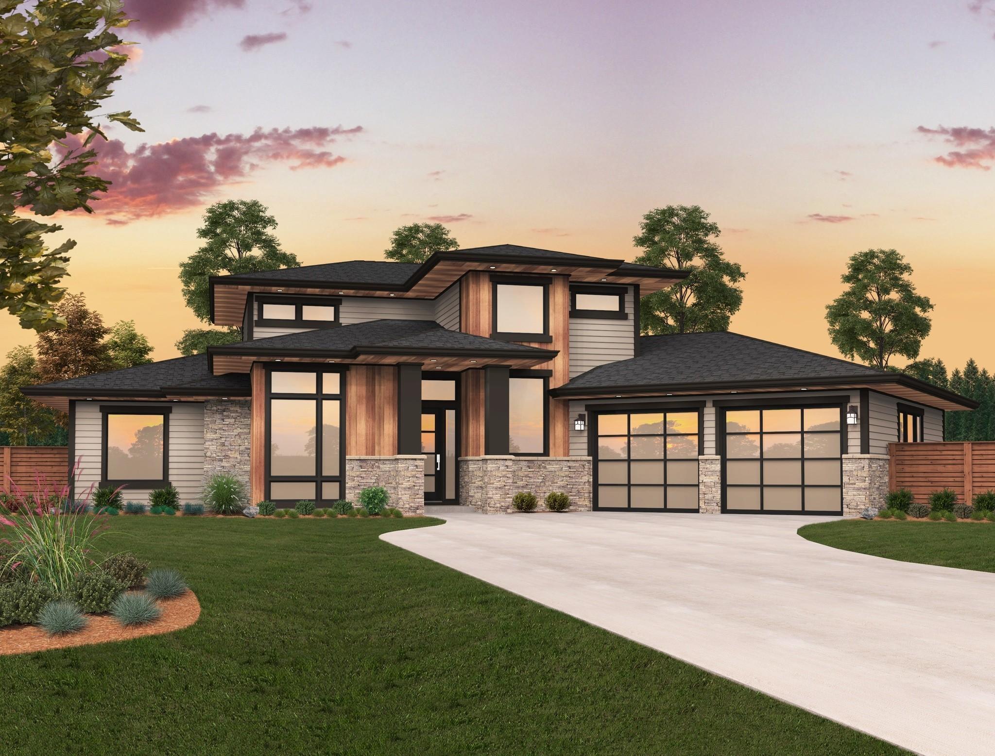 Modern house plan x 16b best selling modern home design for Best selling house plans 2016