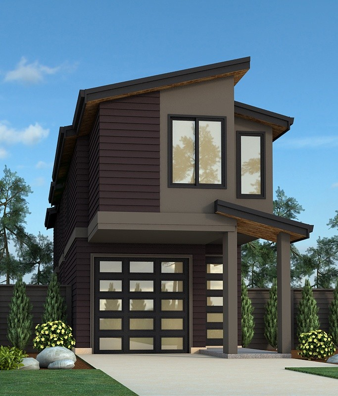 Dimeo florida 1 exterior 1.01 - 23+ Modern House Design For Small Lot Pics