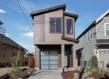 narrow modern house plan