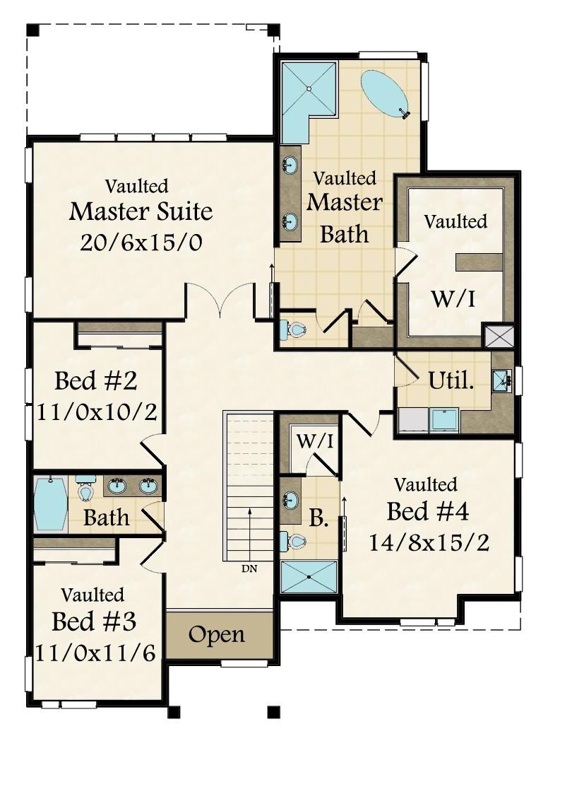 Westlake 17 House Plan Built In Lake Oswego