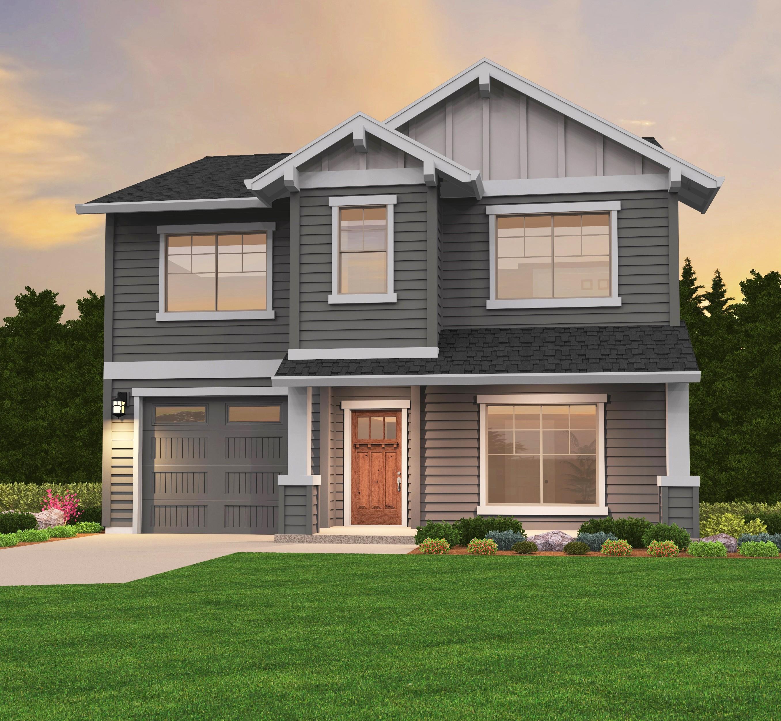 Glenview 5 House Plan | Craftsman House Plans