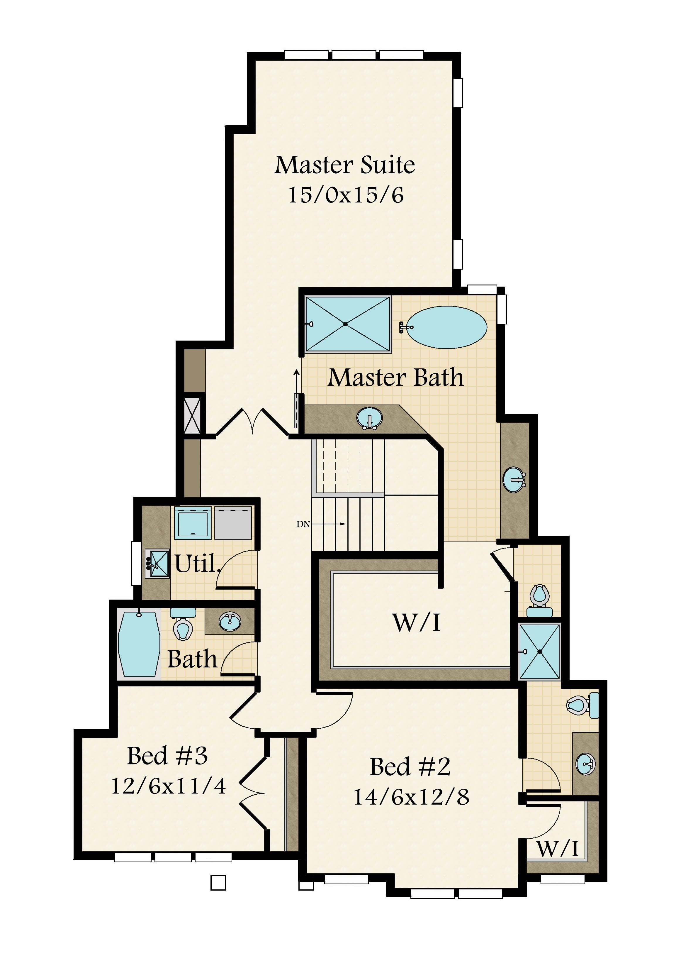 Westlake 4 House Plan Built In Lake Oswego
