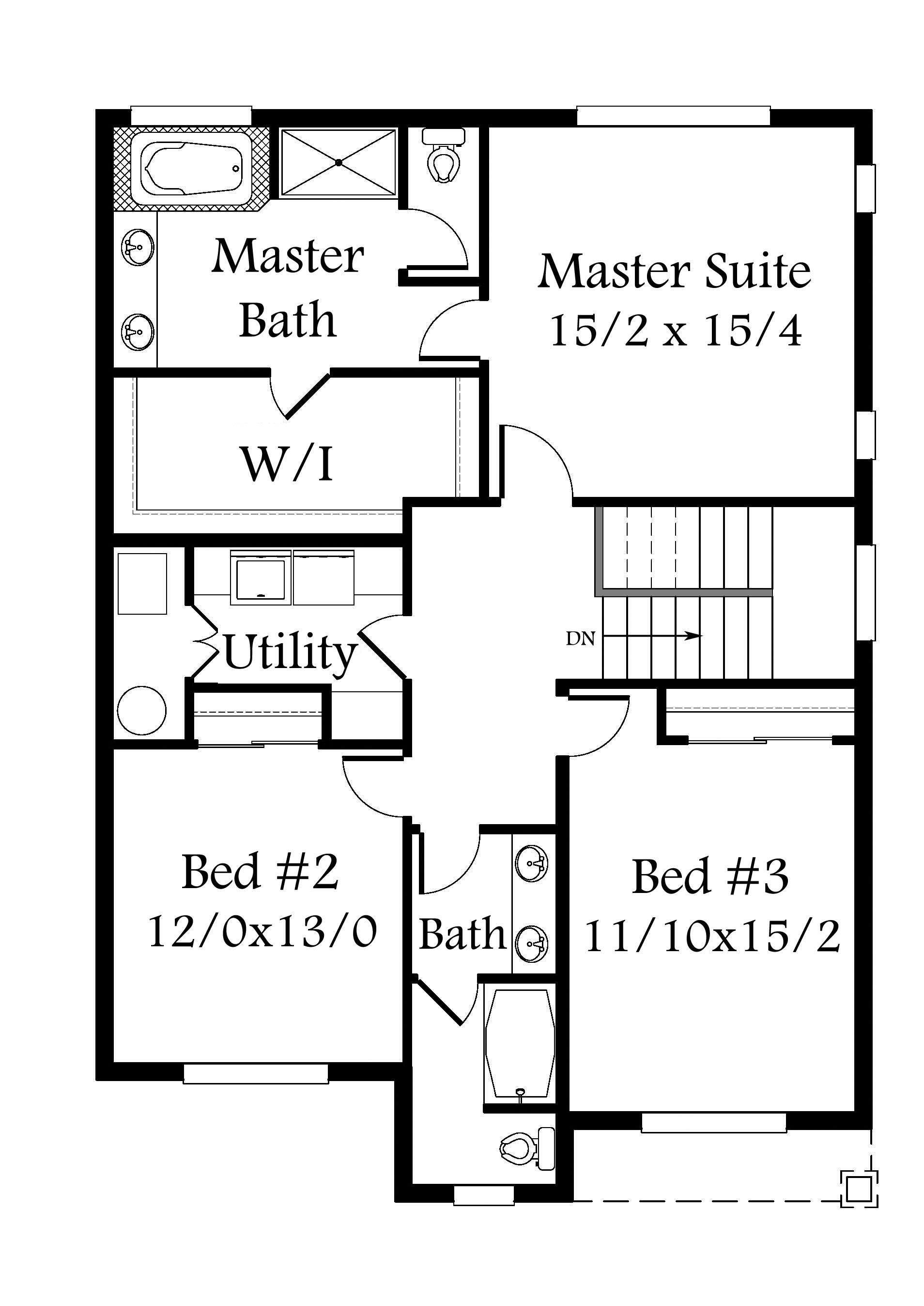 Glenview 5 House Plan | Two Story Craftsman House Plan