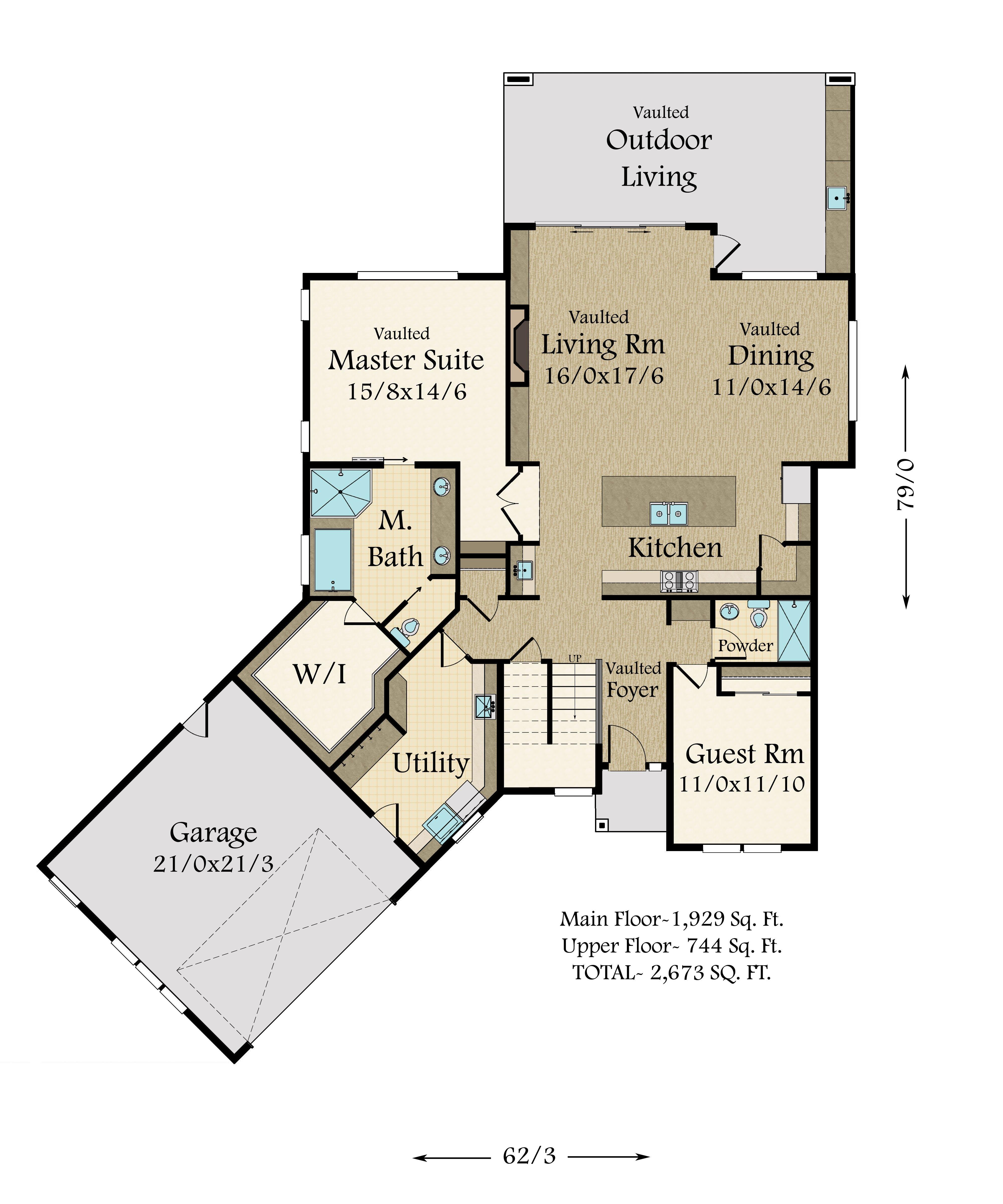 Detached Garage Plan By Mark Stewart Home Design: Modern Masterpiece In A Stock Home Plan