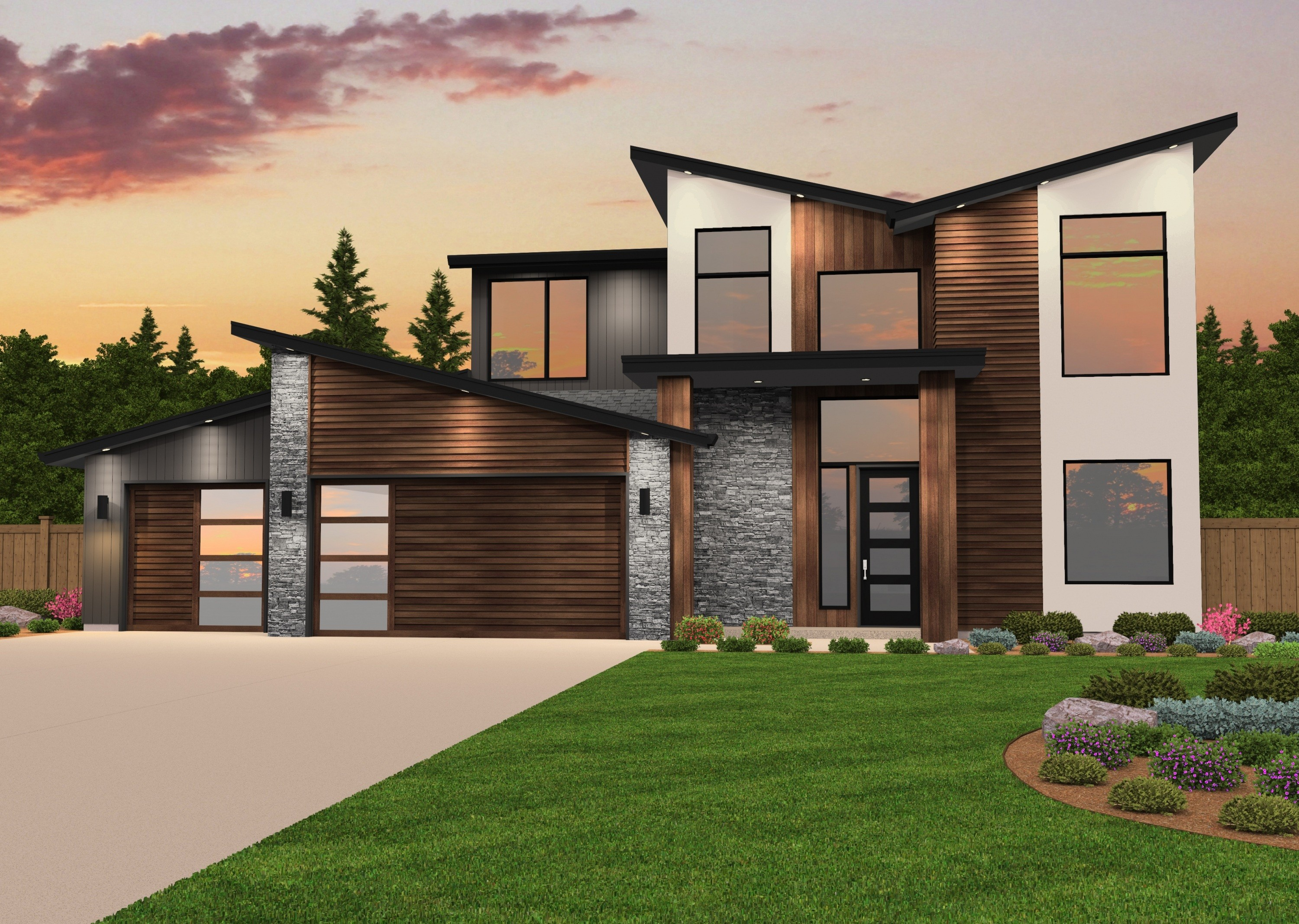 Airborne house plan modern house plans for Modern house designs victoria