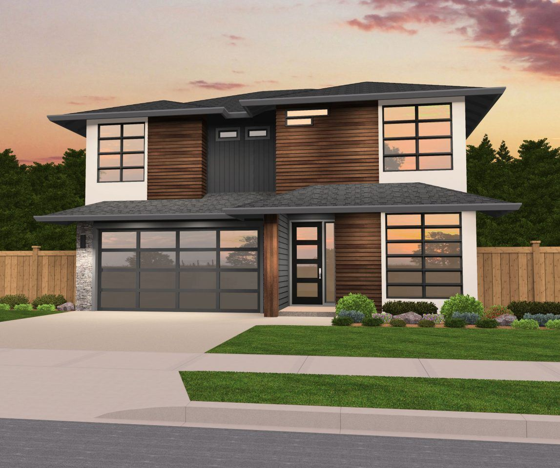 Home Design 3d Front Elevation House Design: Modern Hip Roof House Plan By Mark Stewart