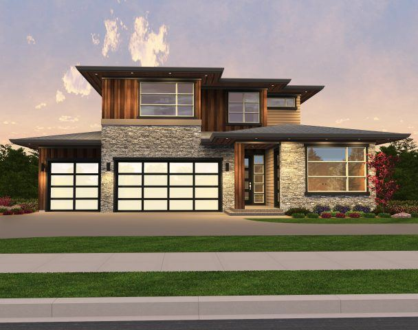 Madonna contemporary house plan