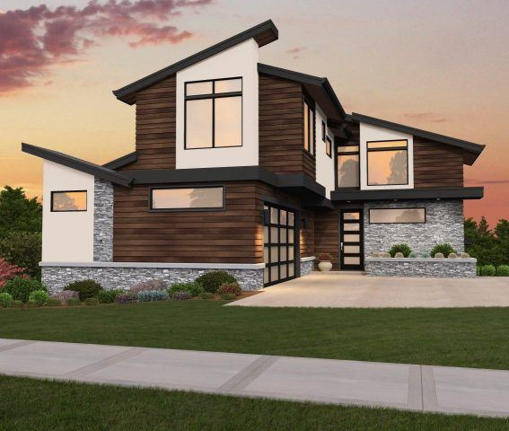 westlake 5 contemporary house plan