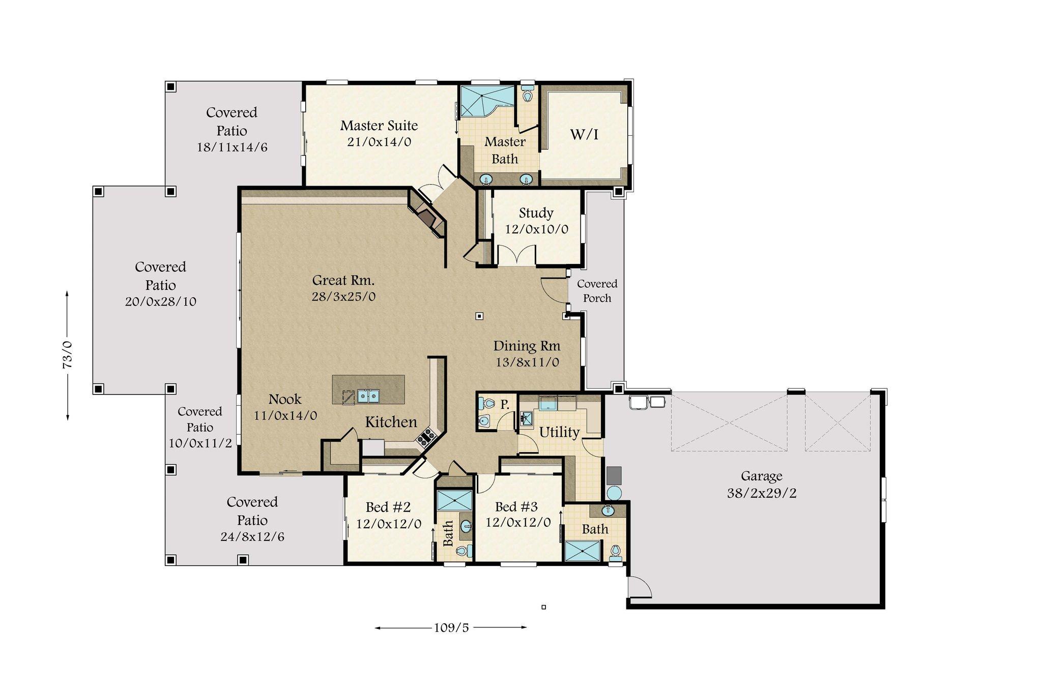 6000 Sq Ft Craftsman House Plans