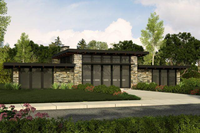 Black Diamond Small Modern Home