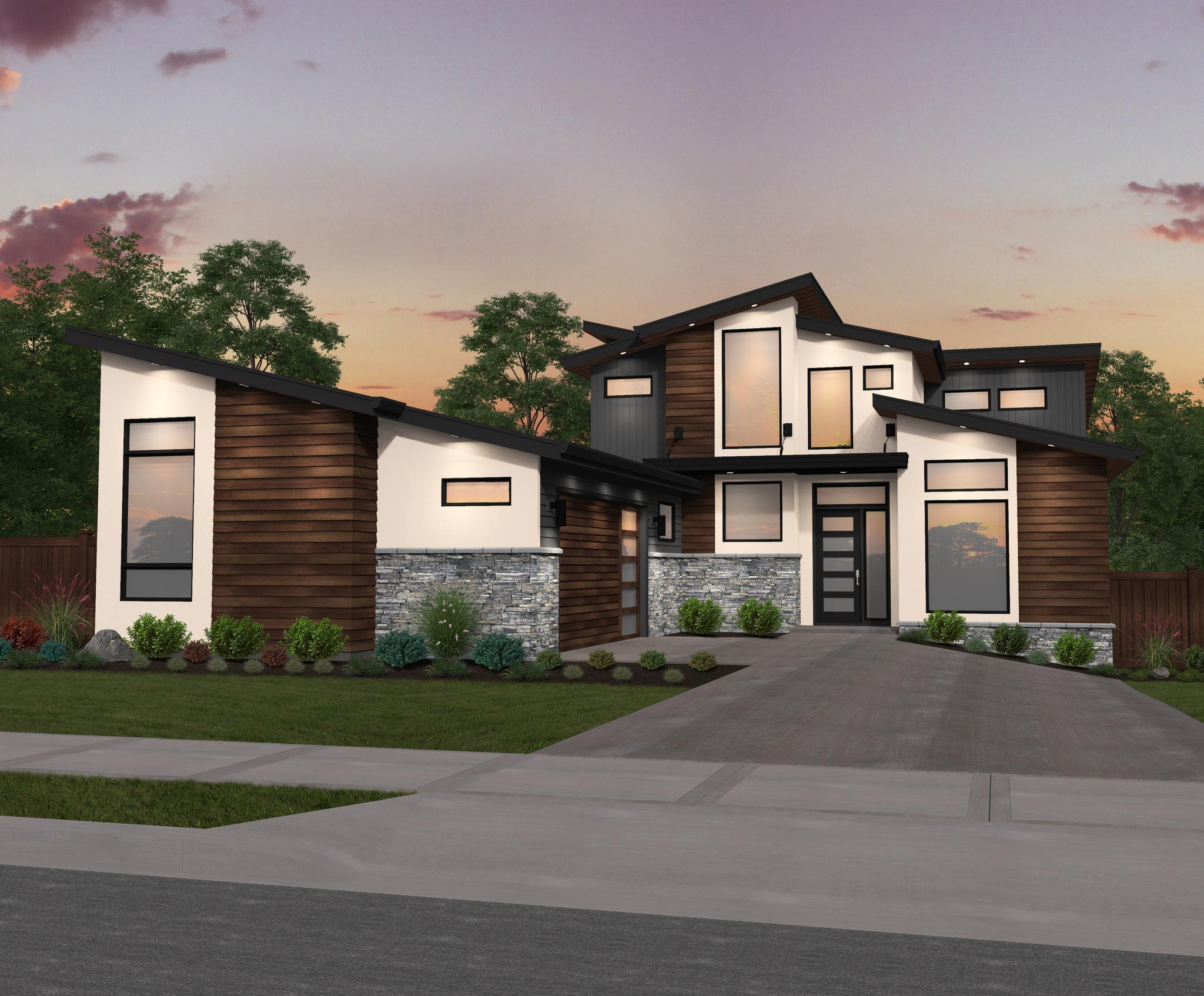 house plans by mark stewart mark stewart home design - Residential Home Designs