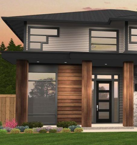 Moby Hip Roof House Plan