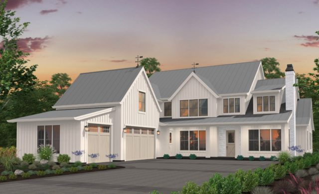 Mark Stewart Modern Farmhouse Style House Plans