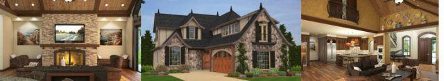 Mark Stewart Home Design Lions Gate House Plan #M-3216-B