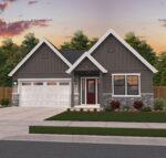 Gray Poplar Single Story Farmhouse