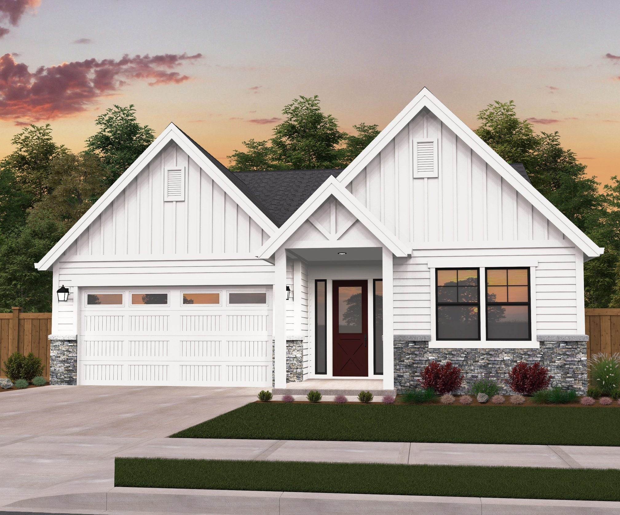 AD 2 Opt A 2.19.2018 final e1529082850186 - 44+ Small Modern House Plans Single Story Images
