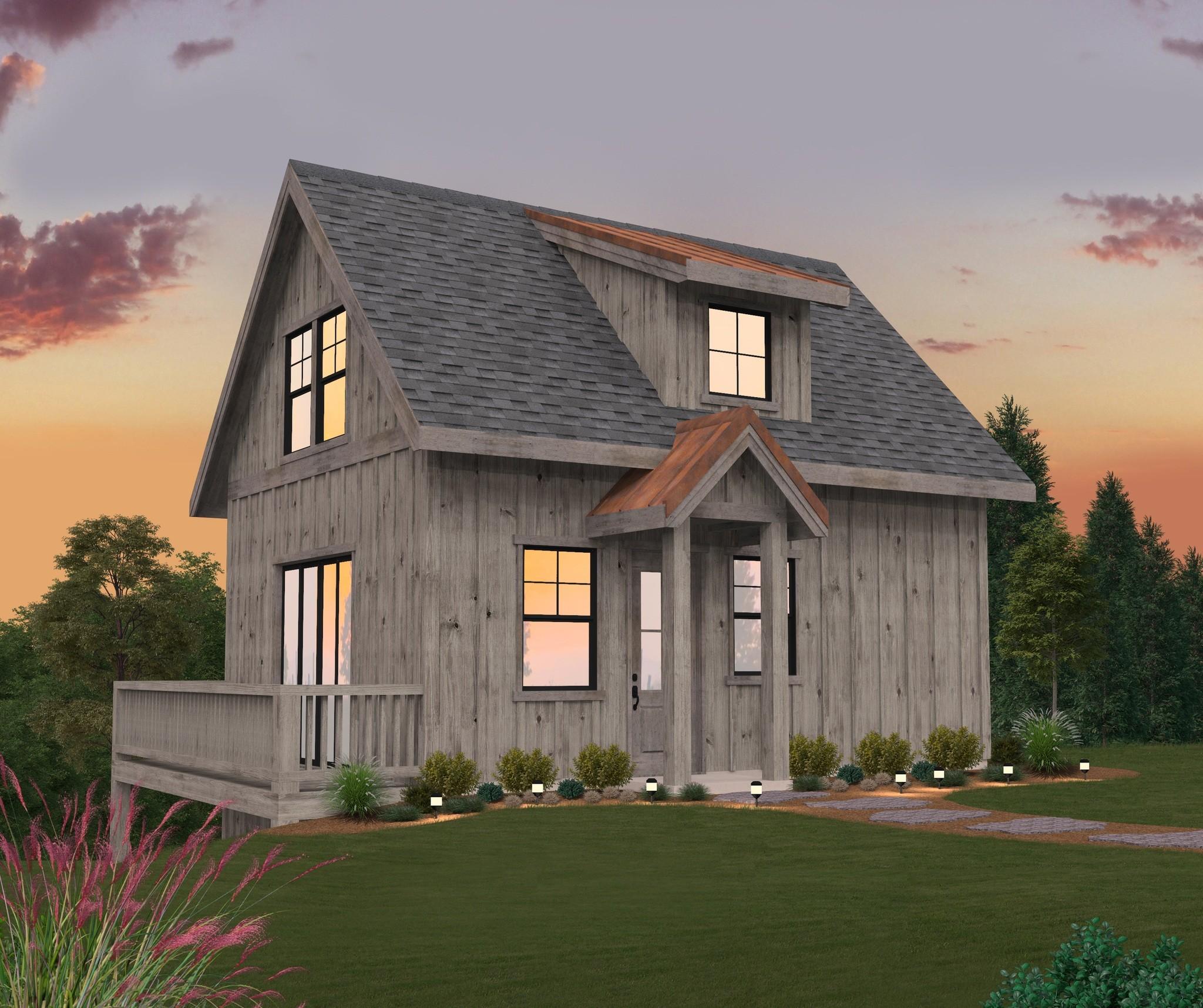 Modern Small Barnhouse Plans with Photos   Berd Barn House ...
