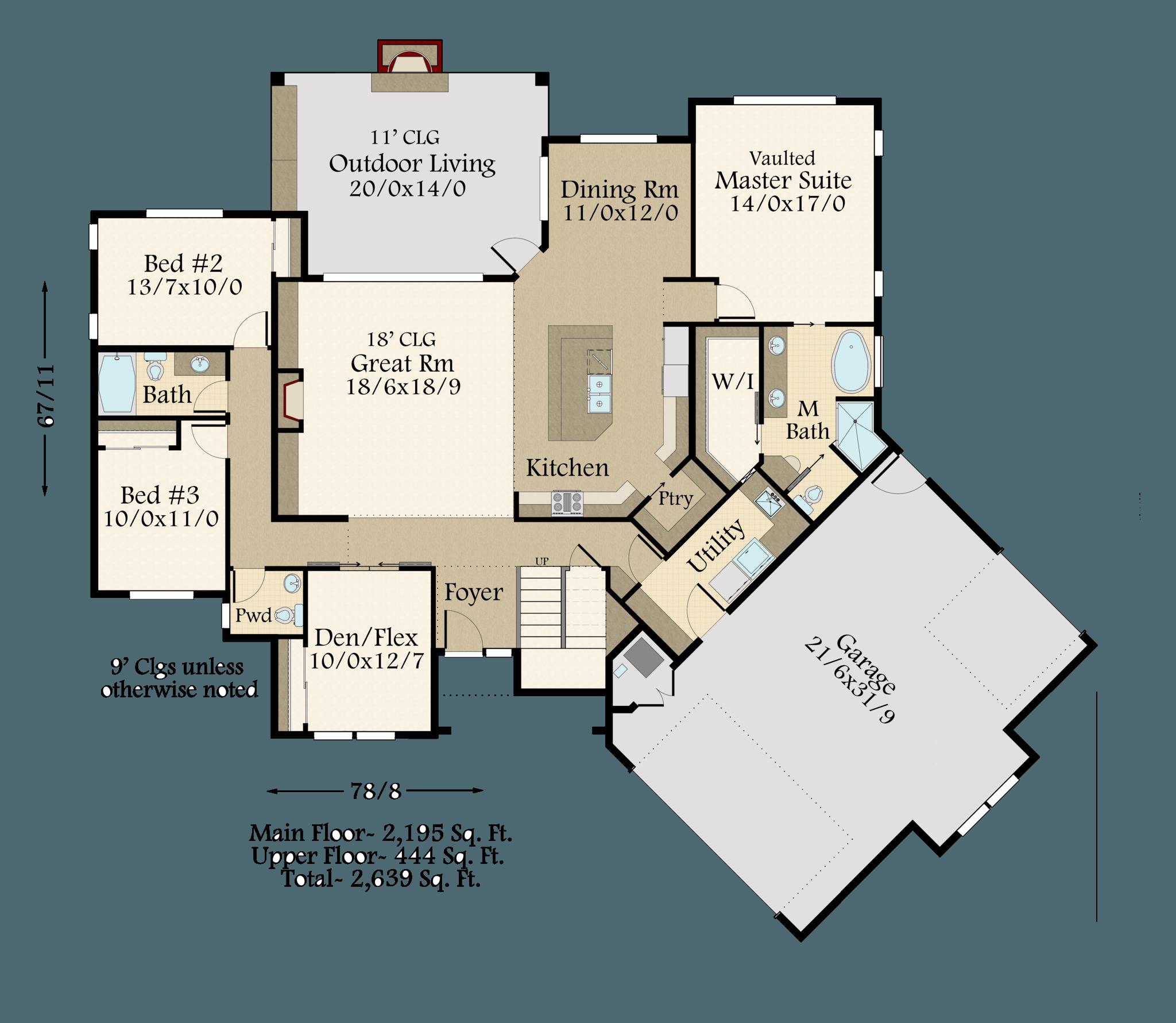 Pendleton House Plan Modern 2 Story Farmhouse Plans With