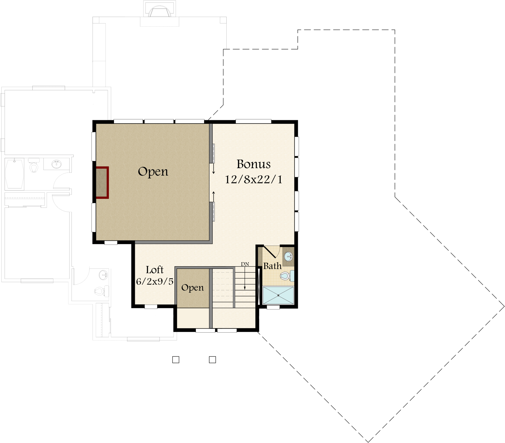 Detached Garage Plan By Mark Stewart Home Design: Modern 2 Story Farmhouse Plans With