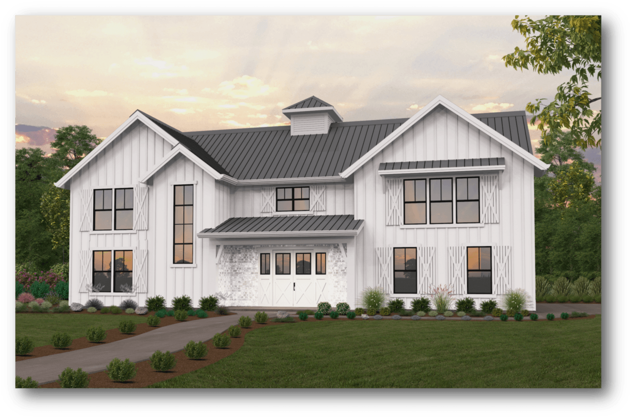 Township Barn House Plan By Mark Stewart Home Design