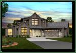Pendleton Modern Farmhouse Plan