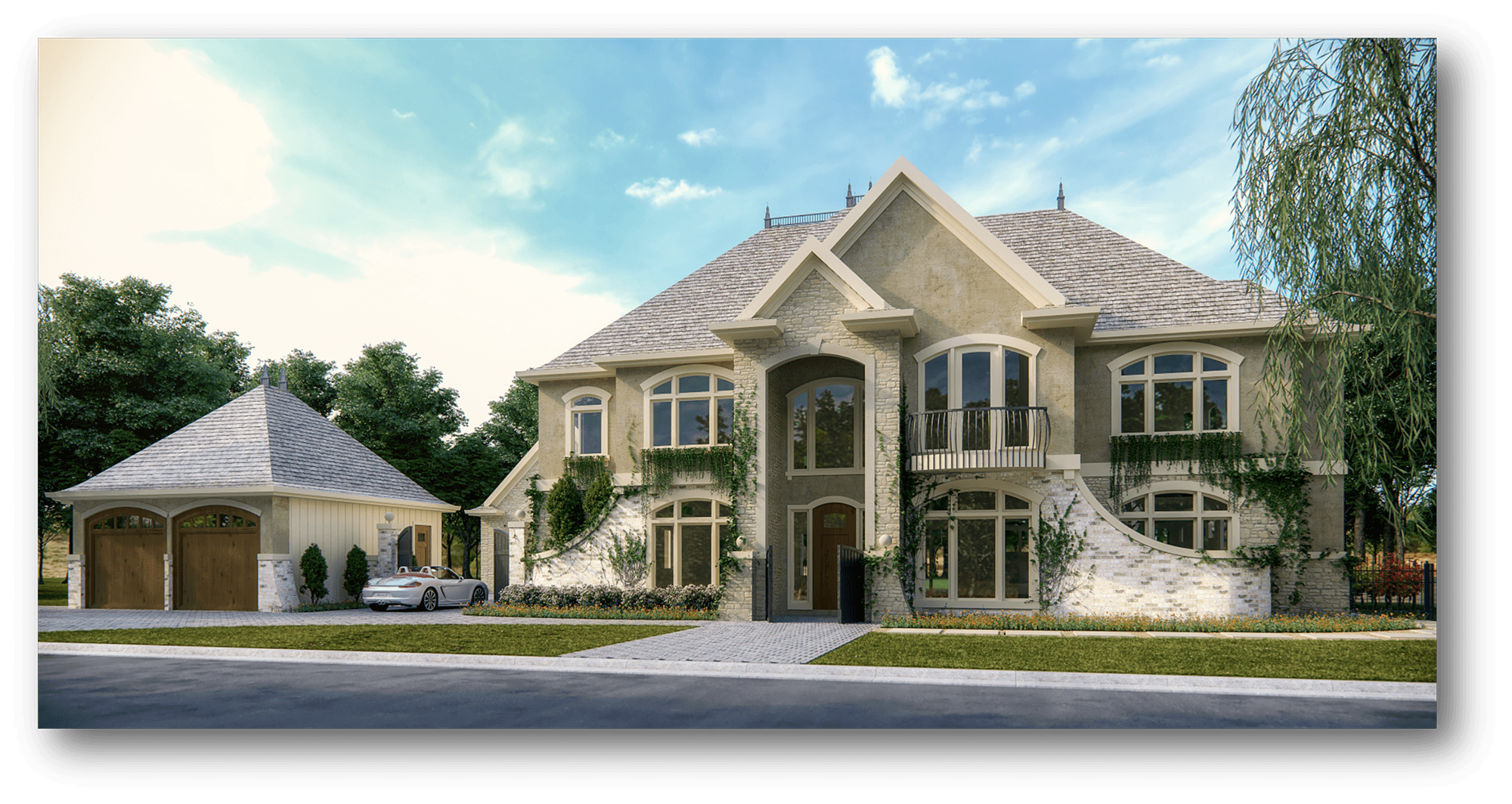 Million House Plan French Country House Plan By Mark Stewart