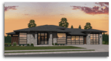 Prime Advantage Northwest Modern House Plan