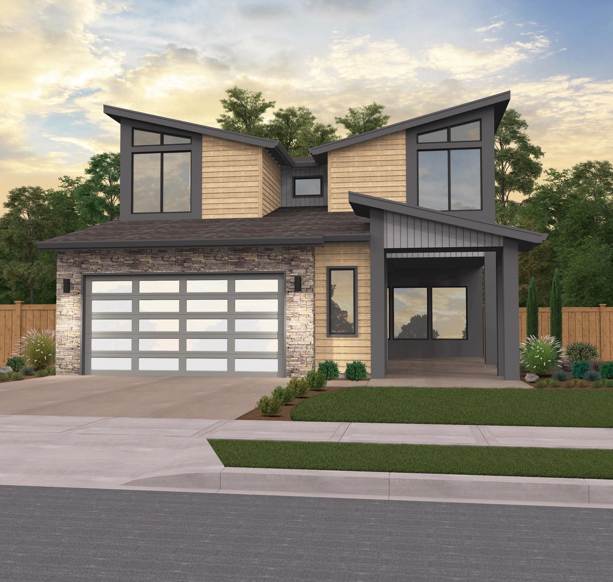 Detached Garage Plan By Mark Stewart Home Design: Modern Home By Mark Stewart Home Design