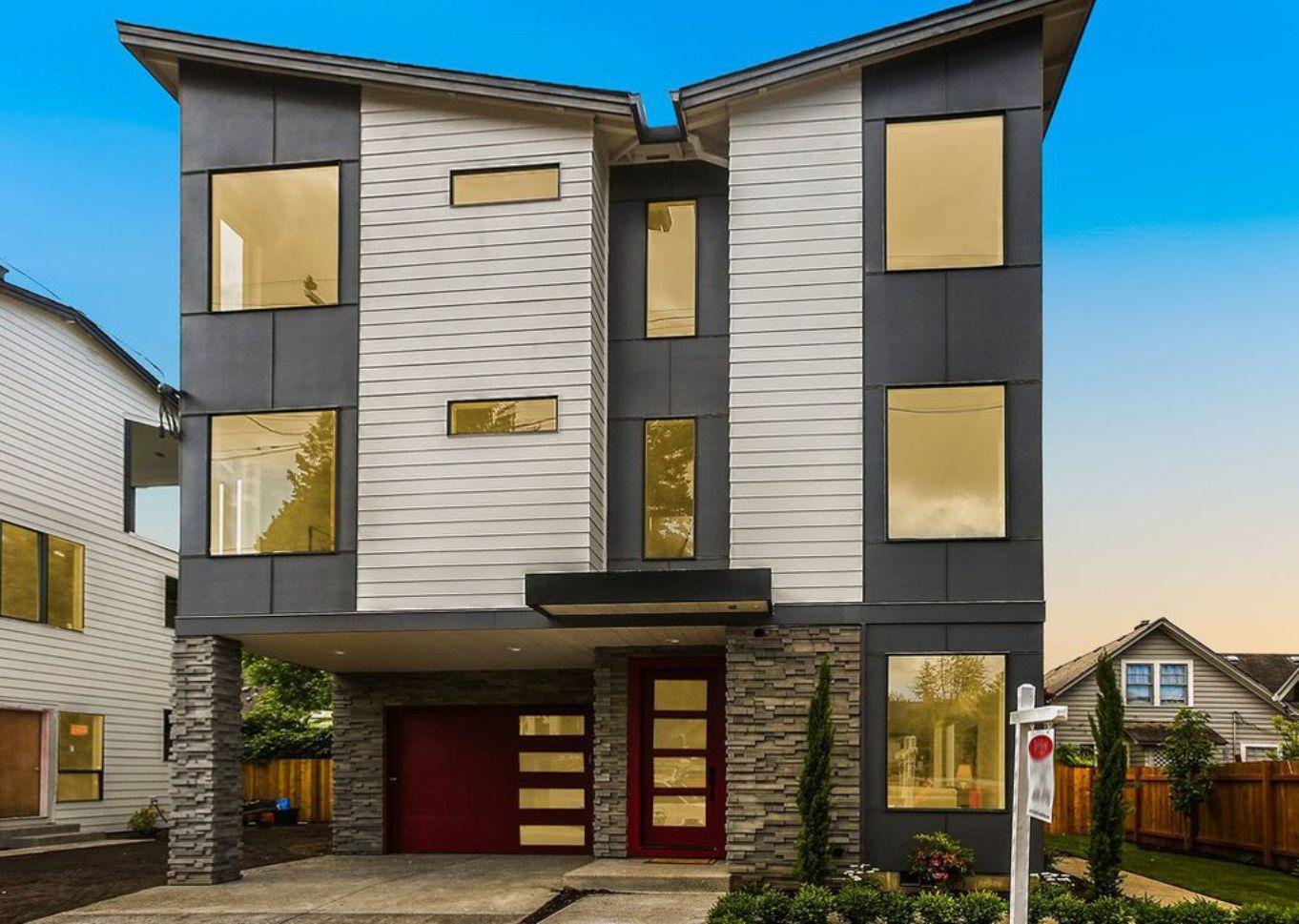 Blandena House Plan Modern Home Plan 3 Story 4 Bedroom Floor Plan