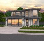 open modern home
