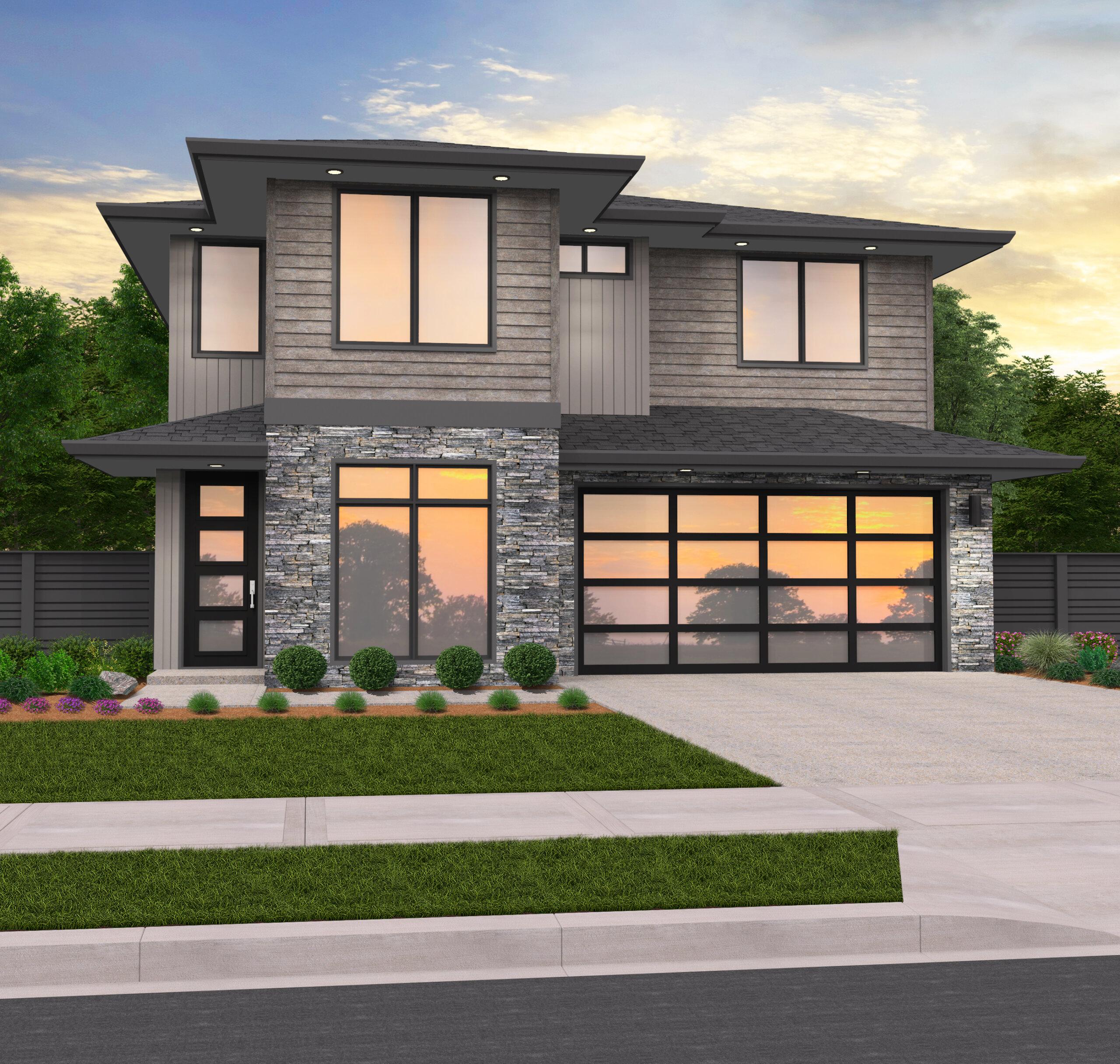 Prairie Style House Plans Modern Prairie Home Designs Floor Plans