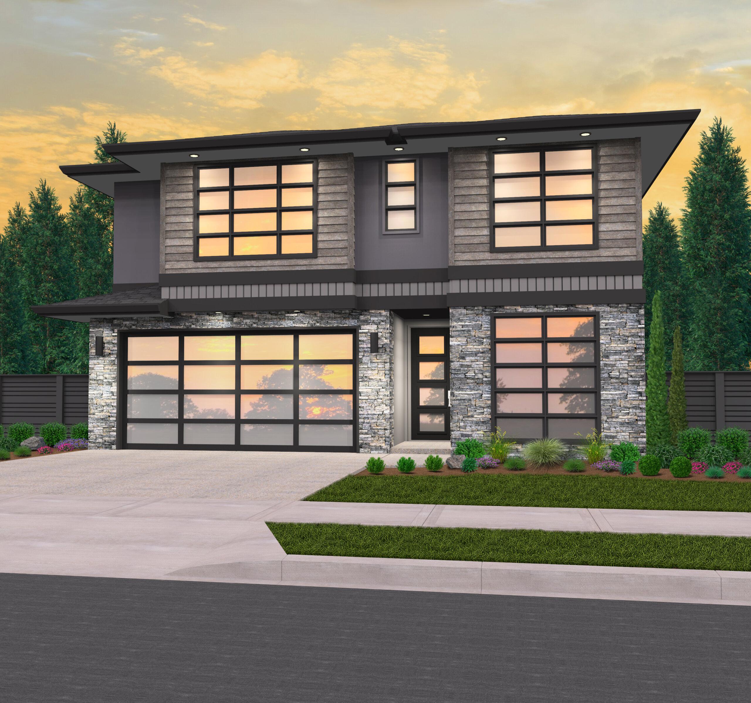 Samantha House Plan Modern Hip Roof Home By Mark Stewart