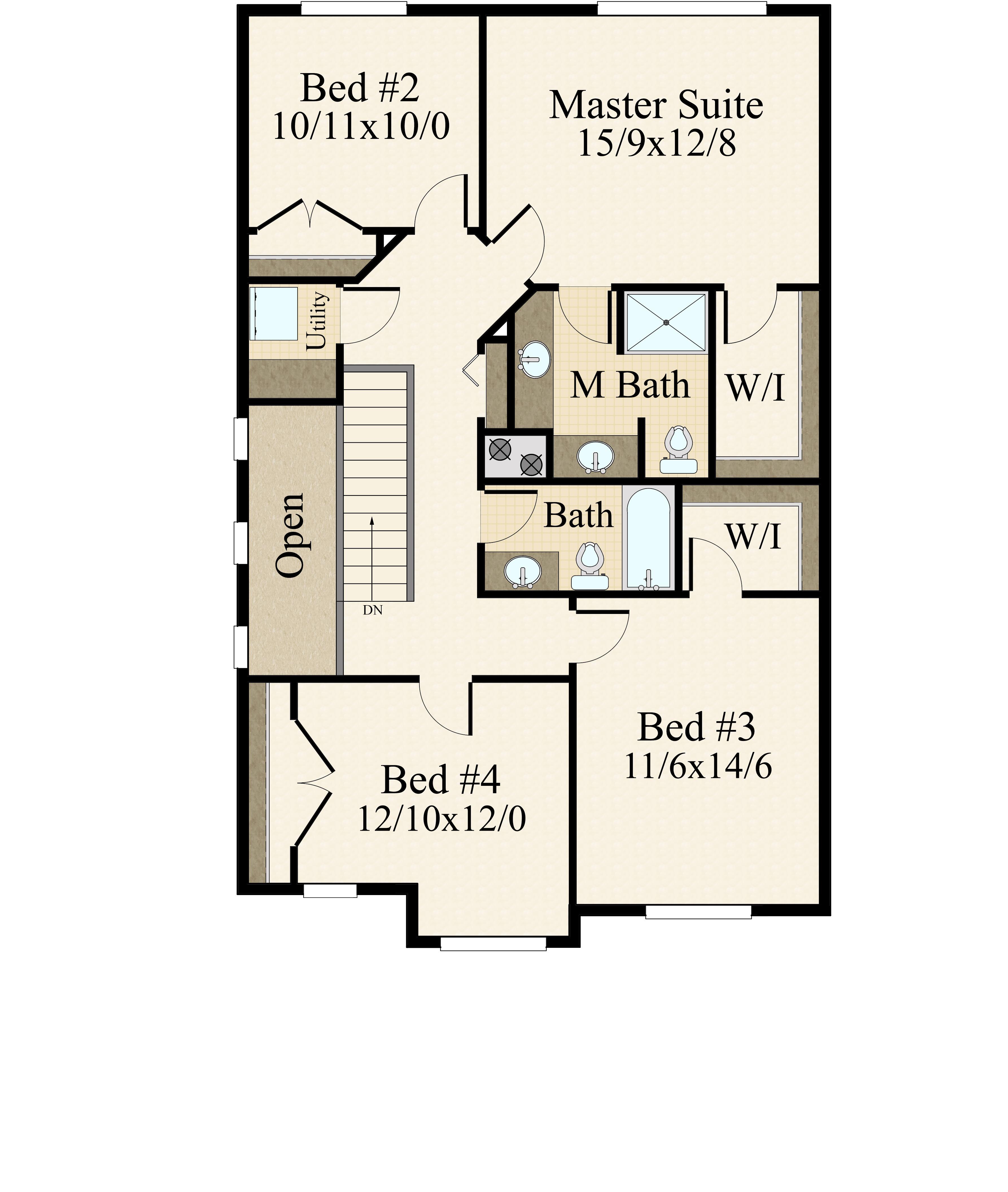 Tesla | Two Story Modern House Plan by Mark Stewart