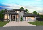 Modern Prairie Home Eagle Front