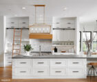 Lancelot Four Bedroom Farmhouse Kitchen Island