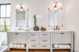 Lancelot Four Bedroom Farmhouse Master Vanity
