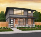 two story modern house