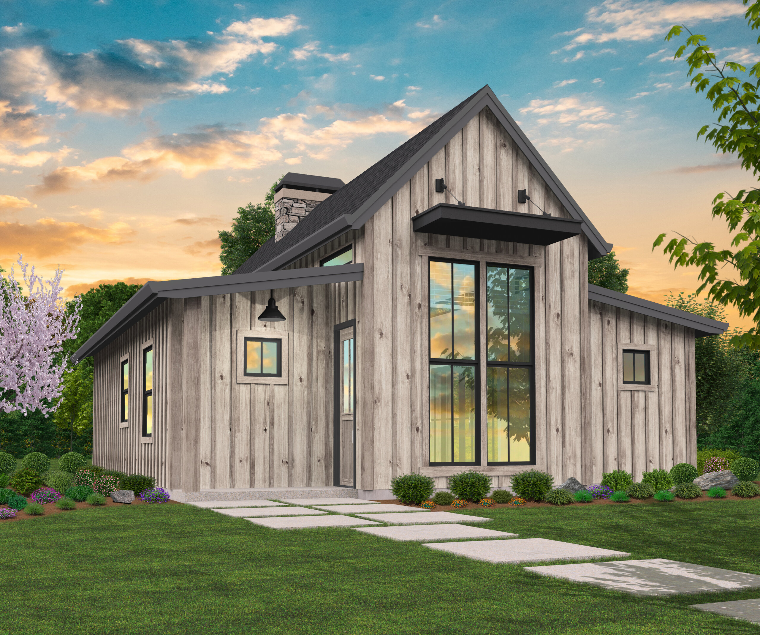 Freedom 20   Rustic Home by Mark Stewart Home Design