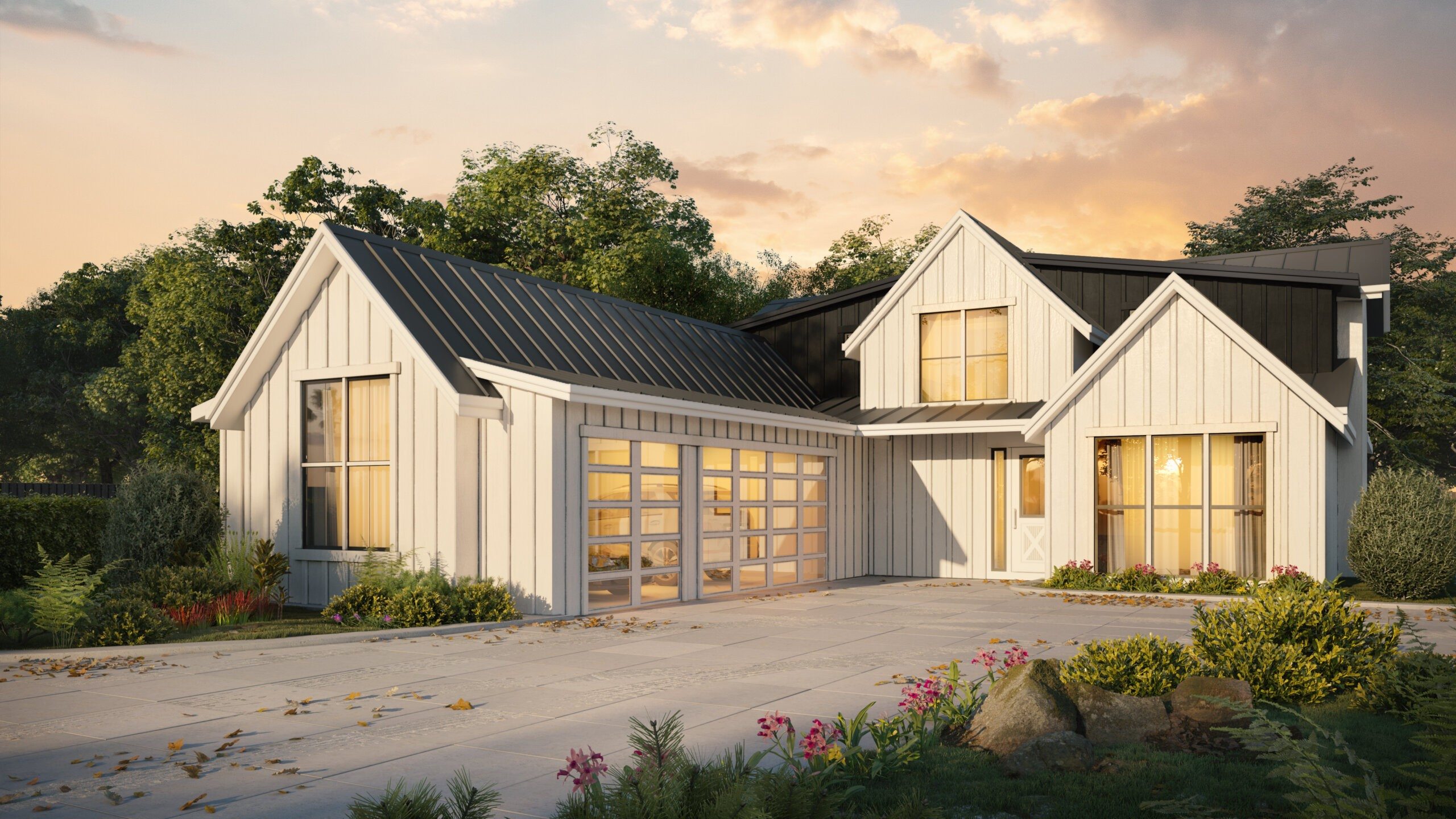 Modern Country Style House Plans Country Style Home Designs