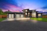 2 story modern house plan