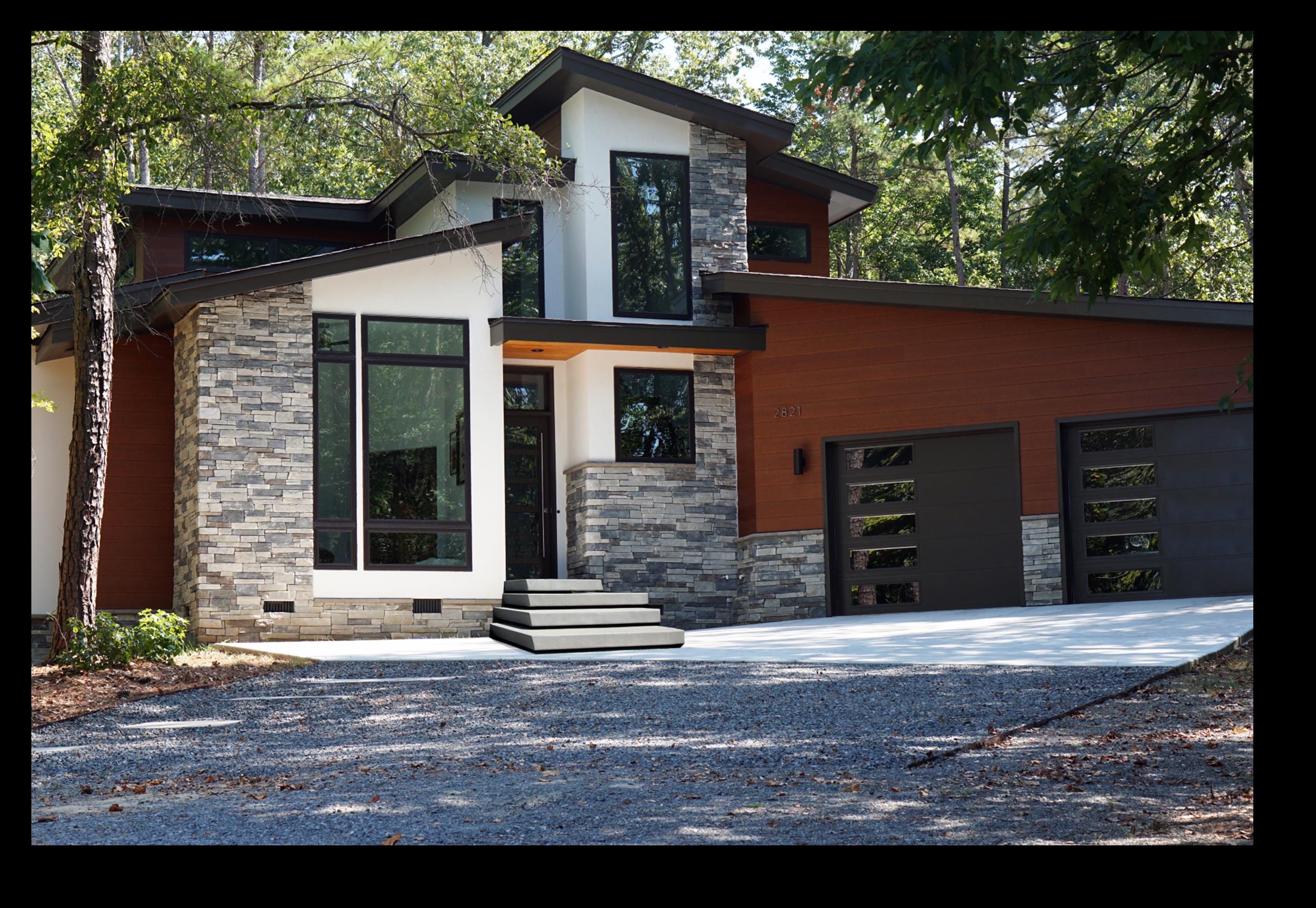 Northwest Modern House Plans Modern Home Designs Floor Plans