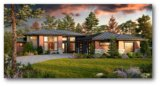 Modern Single Story House Plan